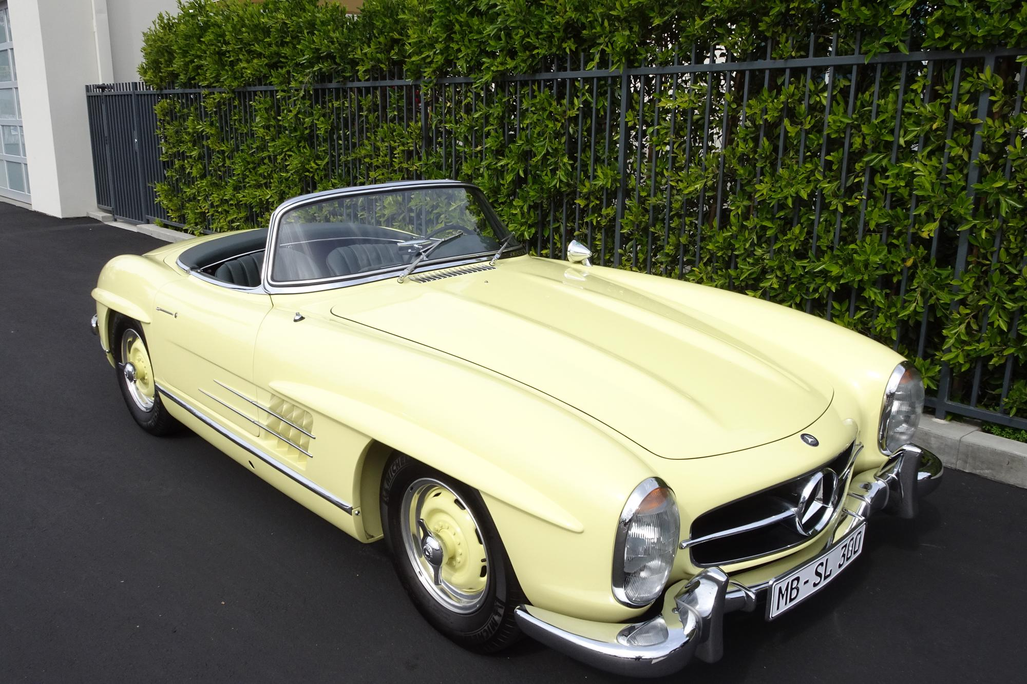 1961 Mercedes-Benz 300SL Roadster with Hardtop