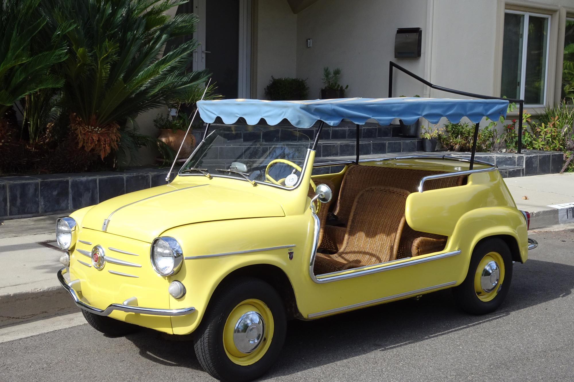 1959 Fiat 600 'Spiaggina'   Jolly Beach Car